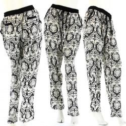 Pantalon Coton Ample Baroque 36/42 - JAROD - Femme -