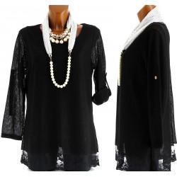 CharlesElie94 MURIELLE Womens Lace Cardigan Tunic Dress UK 14-26