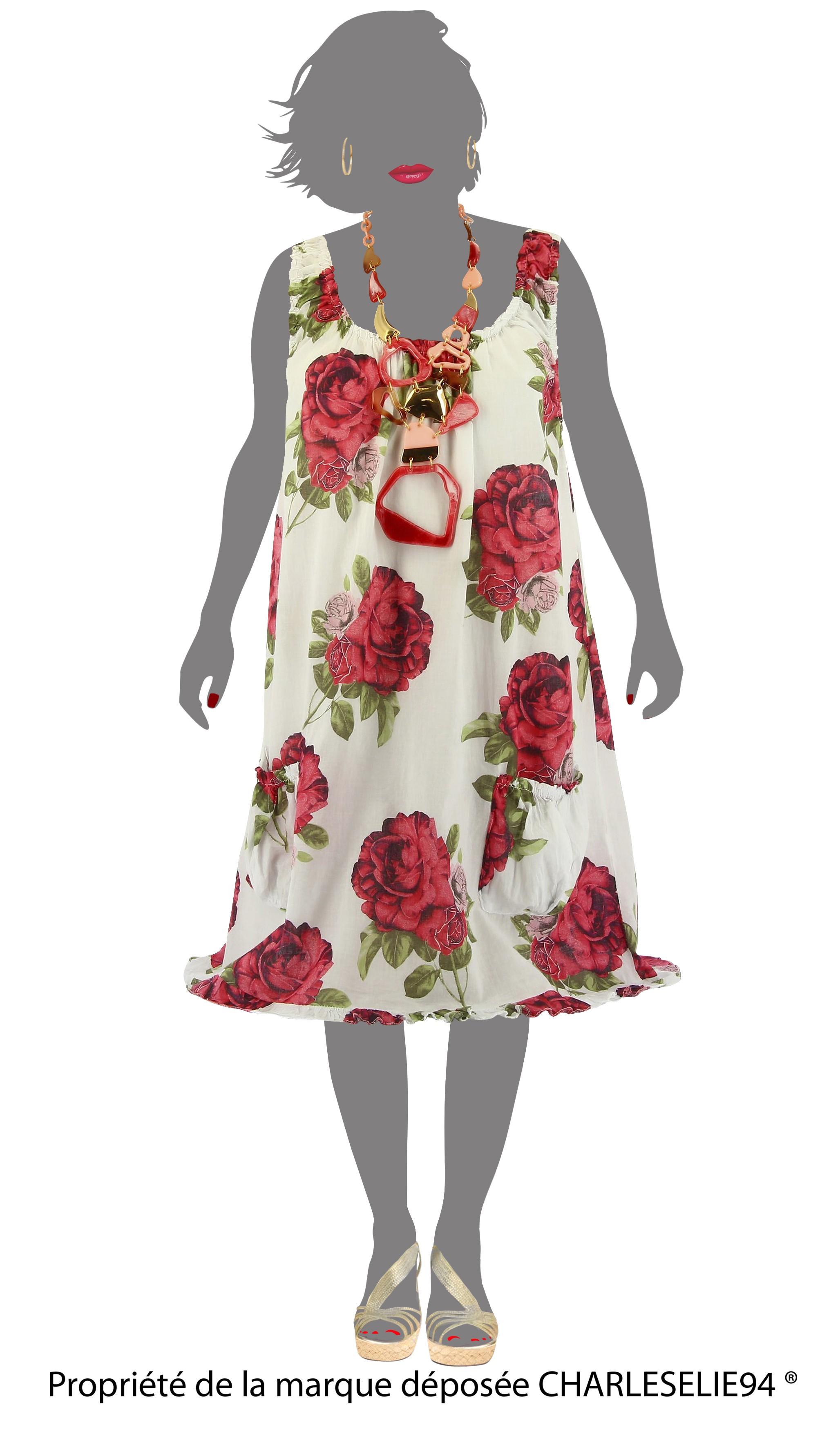 robe t plage coton boh me blanc happy blanc ebay. Black Bedroom Furniture Sets. Home Design Ideas